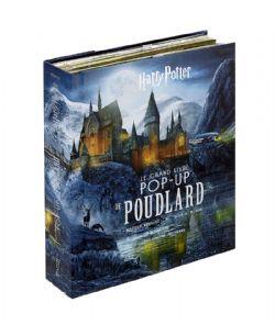 HARRY POTTER -  COFFRET LE GRAND LIVRE POP-UP DE POUDLARD