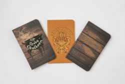 HARRY POTTER -  DIAGON ALLEY POCKET NOTEBOOK COLLECTION (PACK OF 3)