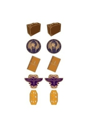 HARRY POTTER -  EARRINGS SET -  FANTASTIC BEASTS AND WHERE TO FIND THEM