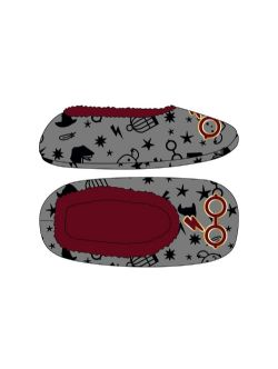 HARRY POTTER -  GREY SLIPPERS