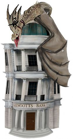HARRY POTTER -  GRINGOTTS MONEY BANK