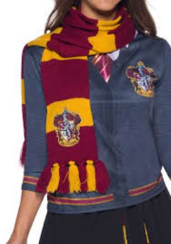 HARRY POTTER -  GRYFFINDOR DELUXE SCARF