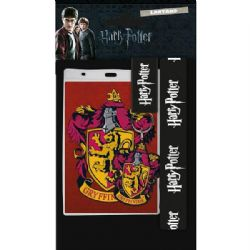 HARRY POTTER -  GRYFFINDOR LANYARD WITH CHARM - BLACK