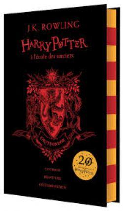 HARRY POTTER -  HARRY POTTER À L'ÉCOLE DES SORCIERS - GRIFFONDOR -  20 ANS DE MAGIE HARRY POTTER