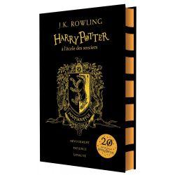 HARRY POTTER -  HARRY POTTER À L'ÉCOLE DES SORCIERS - POUFSOUFFLE -  20 ANS DE MAGIE HARRY POTTER