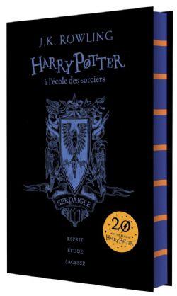 HARRY POTTER -  HARRY POTTER À L'ÉCOLE DES SORCIERS - SERDAIGLE -  20 ANS DE MAGIE HARRY POTTER