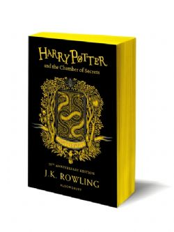 HARRY POTTER -  HARRY POTTER AND THE CHAMBER OF SECRETS . HUFFLEPUFF EDITION -  20TH ANNIVERSARY EDITION