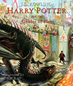 HARRY POTTER -  HARRY POTTER AND THE GOBLET OF FIRE (ILLUSTRATED EDITION) 03