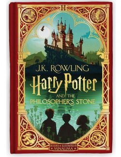HARRY POTTER -  HARRY POTTER AND THE PHILOSOPHER'S STONE - MINALIMA EDITION (HARDCOVER) 01