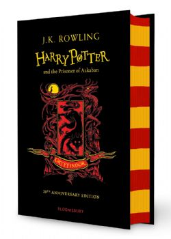 HARRY POTTER -  HARRY POTTER AND THE PRISONER OF AZKABAN . GRYFFINDOR EDITION -  20TH ANNIVERSARY EDITION 03