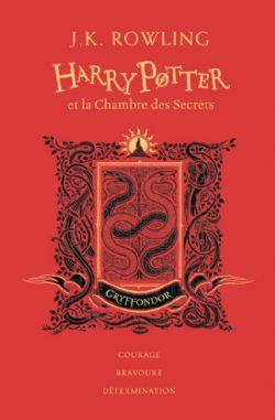 HARRY POTTER -  HARRY POTTER ET LA CHAMBRE DES SECRETS (GRYFFONDOR) . EDITION COLLECTOR 02