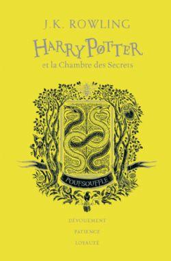 HARRY POTTER -  HARRY POTTER ET LA CHAMBRE DES SECRETS (POUFSOUFFLE) . EDITION COLLECTOR 02