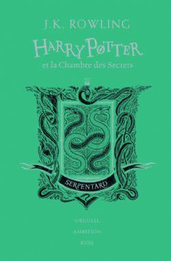 HARRY POTTER -  HARRY POTTER ET LA CHAMBRE DES SECRETS (SERPENTARD) . EDITION COLLECTOR 02