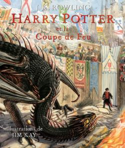 HARRY POTTER -  HARRY POTTER ET LA COUPE DE FEU (ÉDITION ILLUSTRÉE) 04