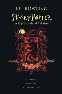 HARRY POTTER -  HARRY POTTER ET LE PRISONNIER D'AZKABAN (GRYFFONDOR) . EDITION COLLECTOR 03