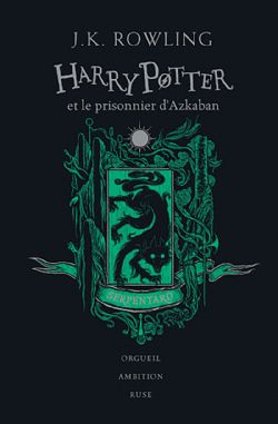 HARRY POTTER -  HARRY POTTER ET LE PRISONNIER D'AZKABAN (SERPENTARD) . EDITION COLLECTOR 03
