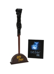 HARRY POTTER -  HARRY POTTER - WAND WITH STICKER KIT -  MINI-KIT