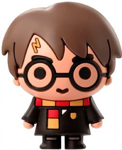HARRY POTTER -  HARRY POTTER WITH SCARF 3D MAGNET