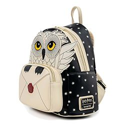 HARRY POTTER -  HEDWIG HOWLER BACKPACK -  LOUNGEFLY