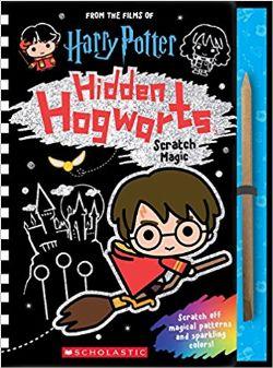HARRY POTTER -  HIDDEN HOGWARTS SCRATCH MAGIC