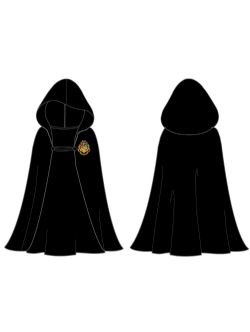 HARRY POTTER -  HOGWARTS CLOAK - BLACK (YOUTH)