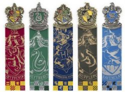 HARRY POTTER -  HOUSE CREST - COLLECTION OF 5 -  BOOKMARK