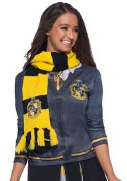 HARRY POTTER -  HUFFLEPUFF DELUXE SCARF