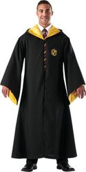 HARRY POTTER -  HUFFLEPUFF ROBE (ADULT - STANDARD)