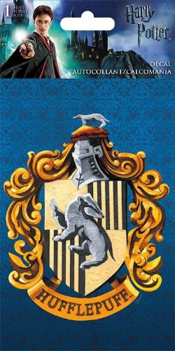 HARRY POTTER -  HUFFLEPUFF'S CREST - STICKER