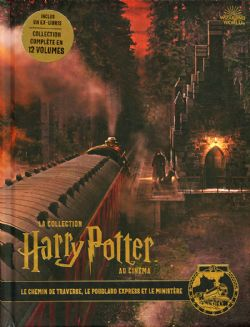 HARRY POTTER -  LE CHEMIN DE TRAVERSE, LE POUDLARD EXPRESS ET LE MINISTÈRE -  COLLECTION HARRY POTTER AU CINÉMA, LA 02