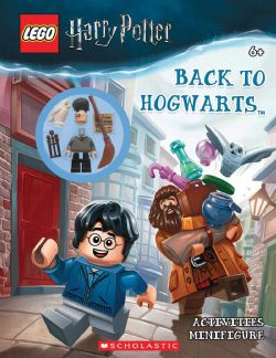 HARRY POTTER -  LEGO HARRY POTTER: BACK TO HOGWARTS ACTIVITY BOOK + MINIFIGURE