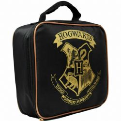 HARRY POTTER -  LUNCH BAG - BASIC STYLE BLACK -  HOGWARTS