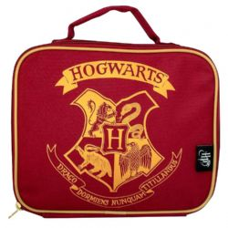 HARRY POTTER -  LUNCH BAG - BASIC STYLE RED '27 .5X20X7.5CM ' -  HOGWARTS