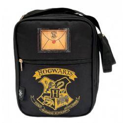 HARRY POTTER -  LUNCH BAG - BLACK -  HOGWARTS