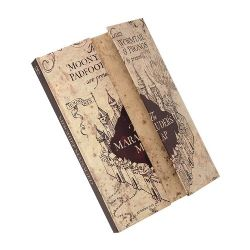 HARRY POTTER -  MAGNETIC NOTEBOOK -  MARAUDER'S MAP