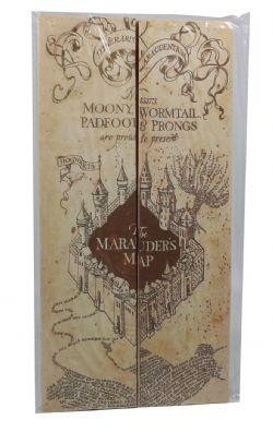 HARRY POTTER -  MARAUDER'S MAP REPLICA - SMALL