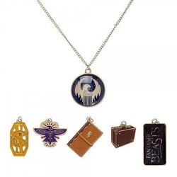 HARRY POTTER -  MULTI CHARM NECKLACE -  FANTASTIC BEASTS AND WHERE TO FIND THEM