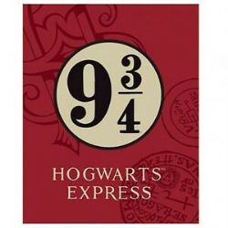 HARRY POTTER -  PLATFORM 9 3/4 HOGWARTS EXPRESS BLANKET (64