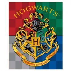 HARRY POTTER -  PLUSH THROW -  HOGWARTS