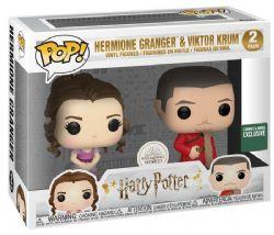 HARRY POTTER -  POP! VINYL FIGURE OF HERMIONE GRANGER & VIKTOR KRUM (YULE BALL) (2 PACK) (4 INCH)