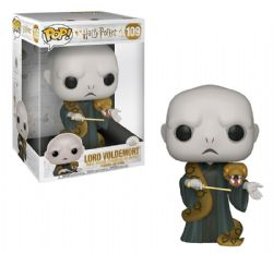 HARRY POTTER -  POP! VINYL FIGURE OF LORD VOLDERMORT (WITH NAGINI) (10 INCH) 109