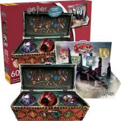HARRY POTTER -  QUIDDITCH SET 2 SIDED (600 PIECES)