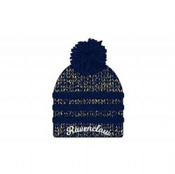 HARRY POTTER -  RAVENCLAW BEANIE WITH POMPOM - RED & YELLOW