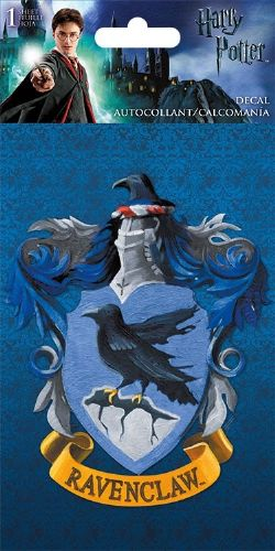 HARRY POTTER -  RAVENCLAW'S CREST - STICKER