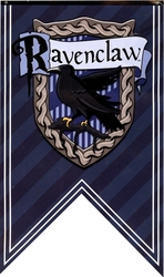 HARRY POTTER -  RAVENCLAW STRIPPED BANNER
