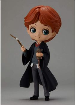 HARRY POTTER -  RON WEASLEY W/SCABBERS Q POSKET FIGURE (5 1/2INCHES)