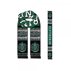 HARRY POTTER -  SLYTHERIN SCARF - GREY/GREEN