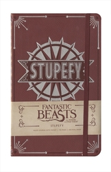 HARRY POTTER -  STUPEFY - HARDCOVER RULED JOURNAL (192 PAGES) -  FANTASTIC BEASTS AND WHERE TO FIND THEM