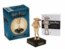 HARRY POTTER -  TALKING DOBBY AND COLLECTIBLE BOOK KID