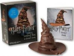 HARRY POTTER -  TALKING SORTING HAT AND STICKER BOOK